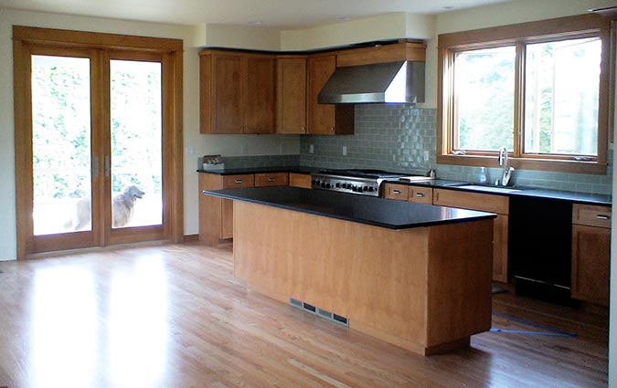 Remodeled kitchen in Broadview: After