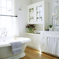 Natural Light Bathroom