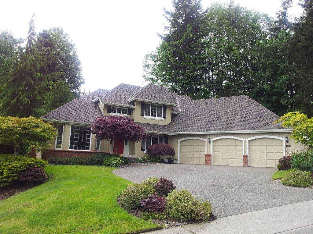 Roofing project in Mukilteo