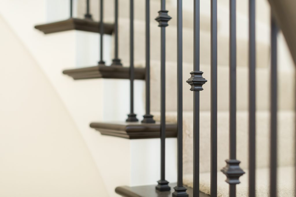 custom wrought iron bannister seattle remodel bellevue remodel general contractor